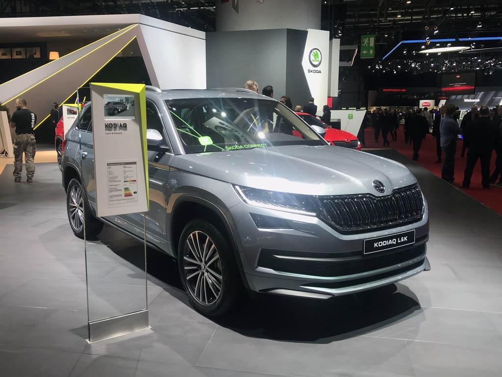增加豪华套件 斯柯达科迪亚克L&K车展首发