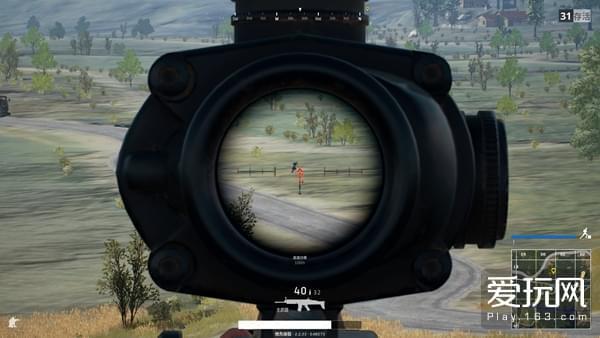 4倍镜瞄准器