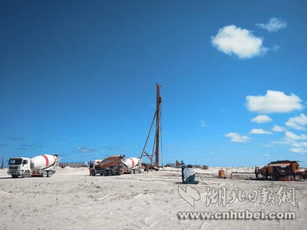 央企承建马尔代夫最大保障房项目 建材自中国运送