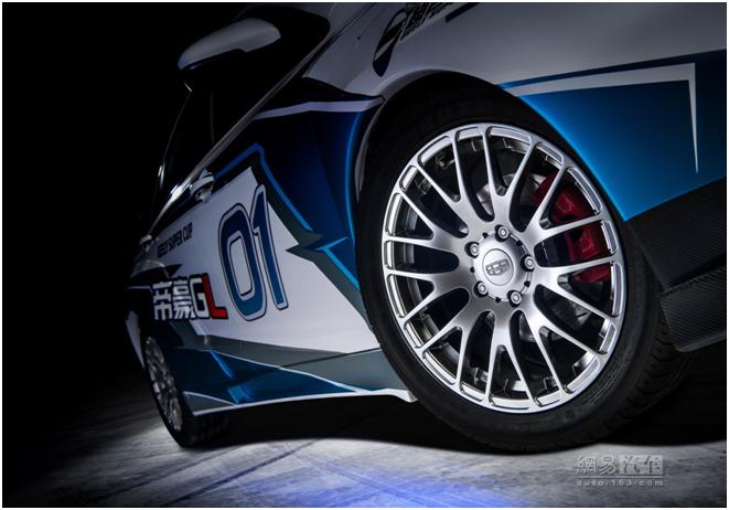 能量產上市就好了 帝豪GL賽車版官圖發布