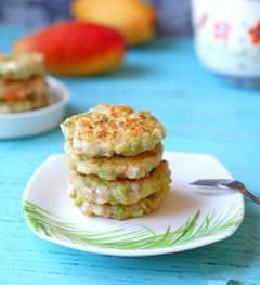蔬菜虾肉饼