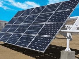 城北光伏发电项目动工 带动53扶贫户增收