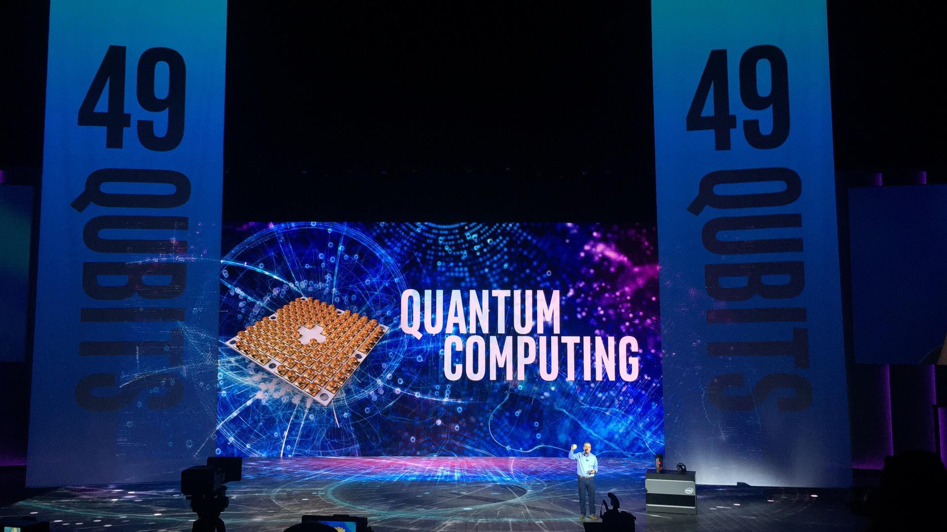 英特尔宣布交付首个49量子位量子计算测试芯片