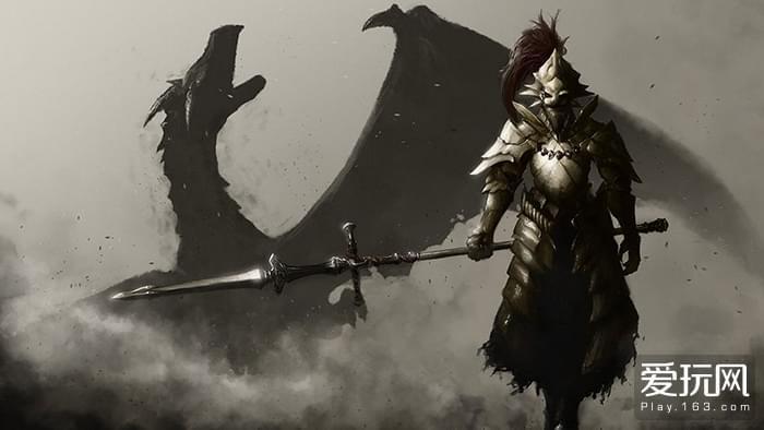 翁斯坦守在太阳公主之前,以骑士的姿态。