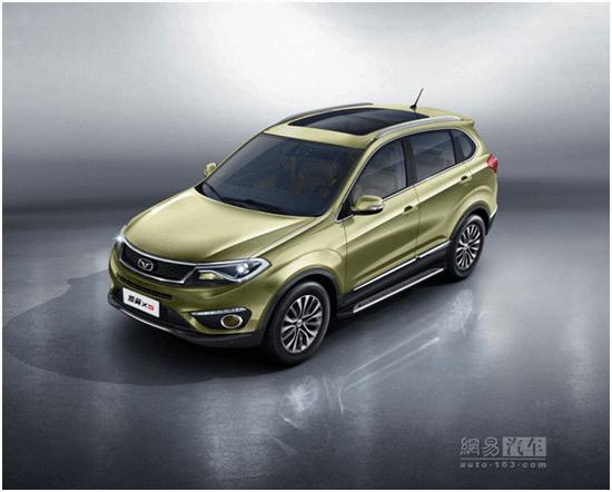 9月中旬上市/紧凑型SUV 凯翼X5官图发布