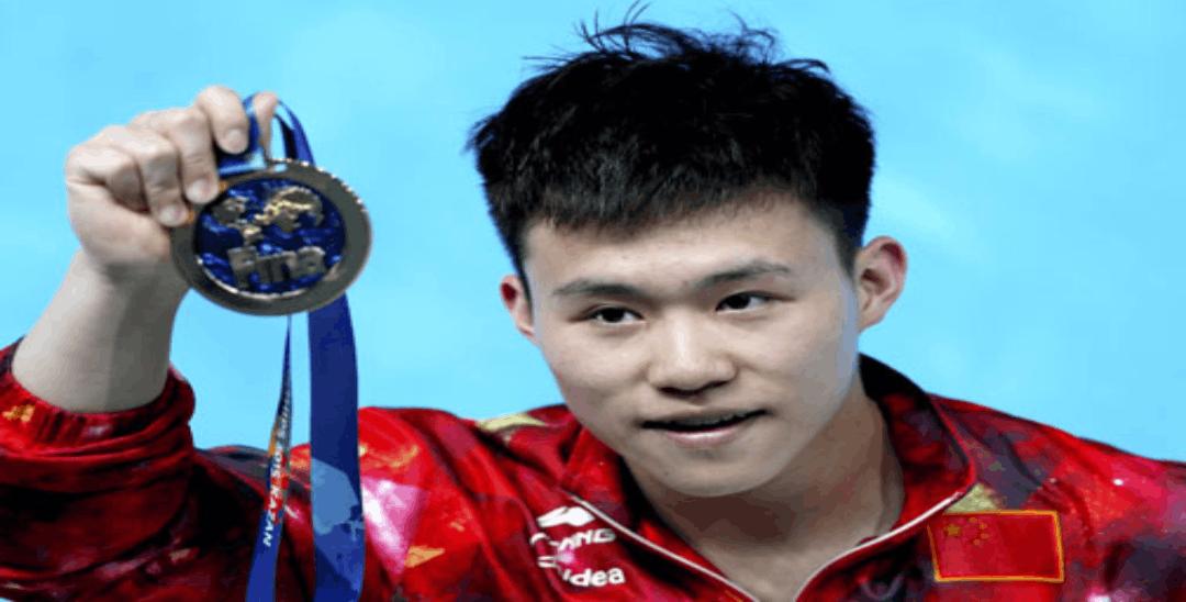 汕头籍跳水运动员谢思埸首夺世锦赛3米板单人金牌