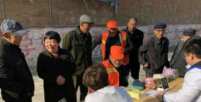 万余人签约雄县朱各庄镇卫生院家庭医生服务