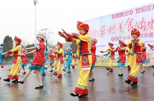 湖北省乡村美食购物游活动在松滋启动,你去逛了吗