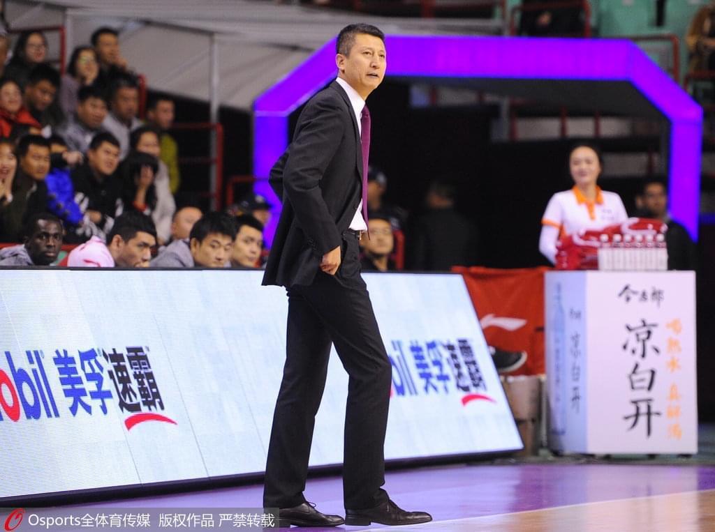 郭士强:最近两场防守质量很高 辽篮找回自己节奏