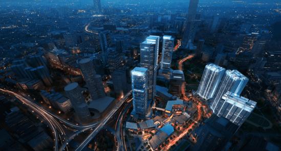 观音桥商业必争之地新壹街写字楼创造新高度