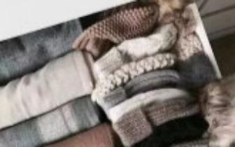 冬天的厚衣服这样收 不回潮无折痕 省了3个大衣柜