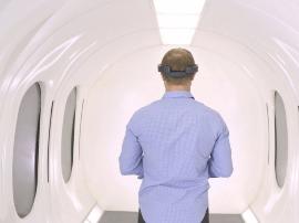 Hyperloop运输技术公司开始打造超级高铁乘客舱