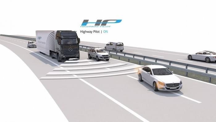 戴姆勒自动驾驶卡车,戴姆勒卡车
