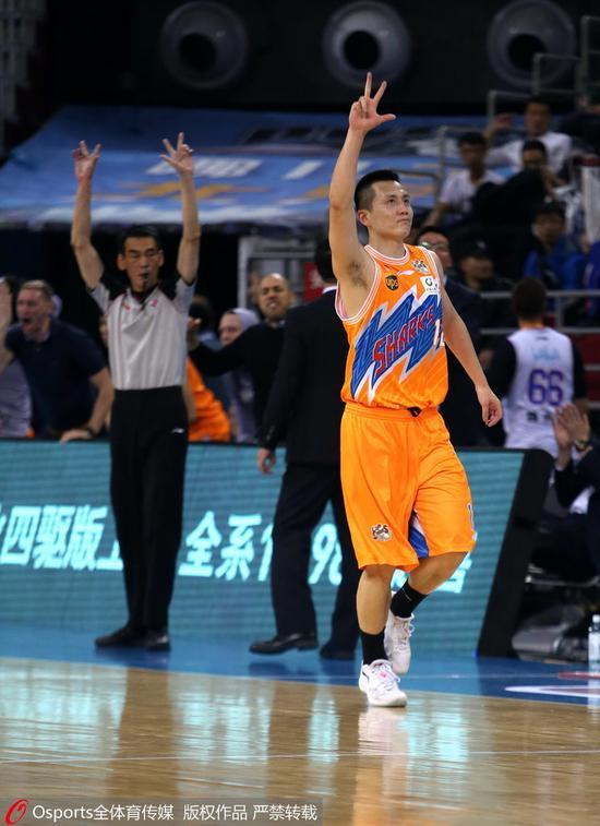 辽媒:卢伟19分助上海锁定胜局 北京表现也很顽强