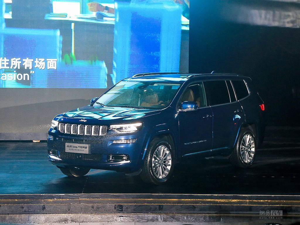 都市7座Jeep来了 大指挥官上市27.98万起