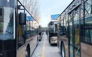 姜堰首批纯电动新能源公交车正式运营