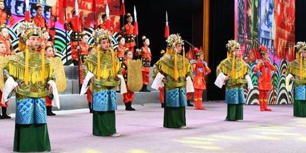 邯郸:戏曲文化进校园