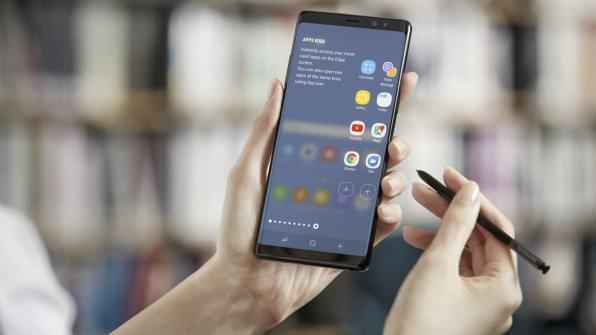 三星高管:Galaxy Note 8创下Note系列最高预订量