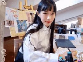 全球最高分 青岛中学生画贵妃获国际艺考满分