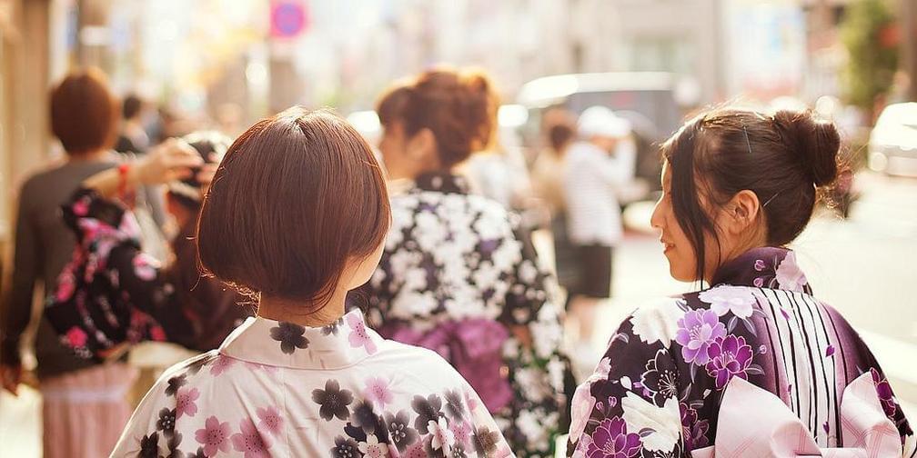 日本浴衣美女是怎样炼成的?