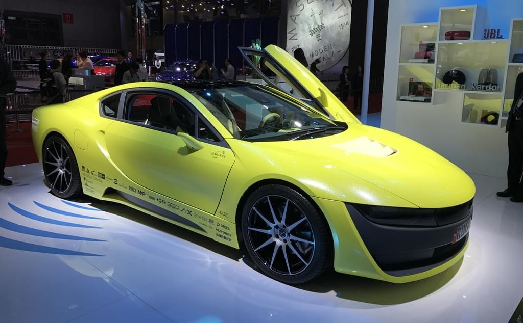 2017上海车展:Rinspeed Etos概念车发布