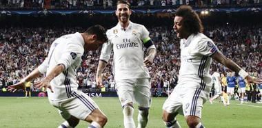 欧冠皇马总分6-3淘汰拜仁 C罗戴帽激情庆祝