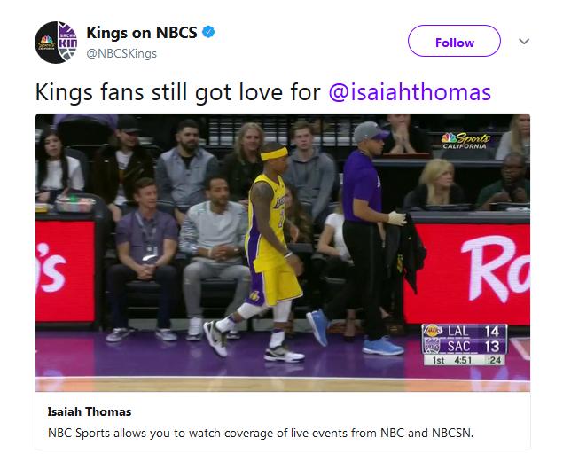 【影片】暖心!小刺客終收穫掌聲 國王主場球迷沒有忘記他