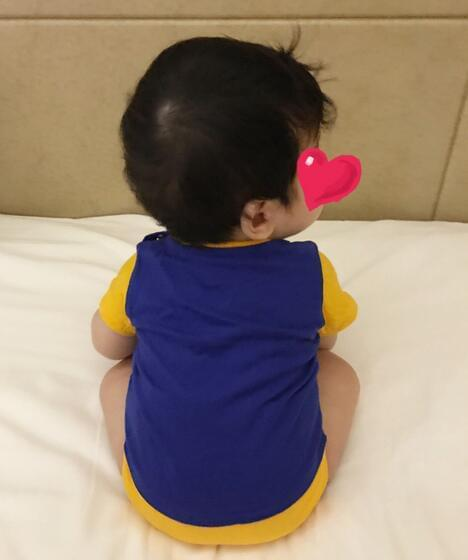 陈妍希首晒儿子近照 小星星像个小团子萌炸!
