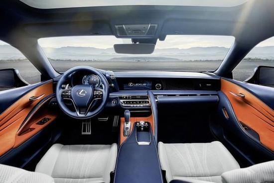 130万的旗舰跑车 雷克萨斯LC预售价公布