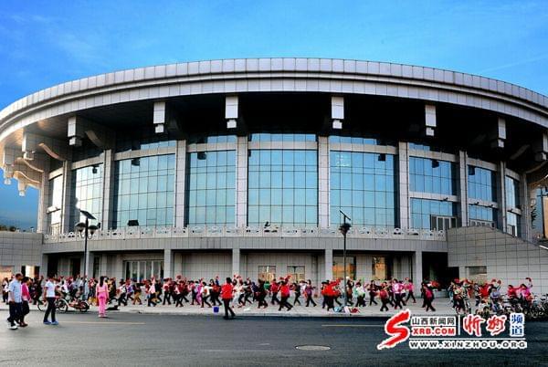 代县新城体育中心成为群众休闲锻炼好去处