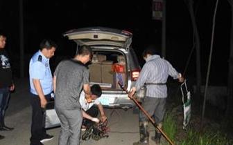开发区·竹根滩镇开展打击非法捕捞专项行动