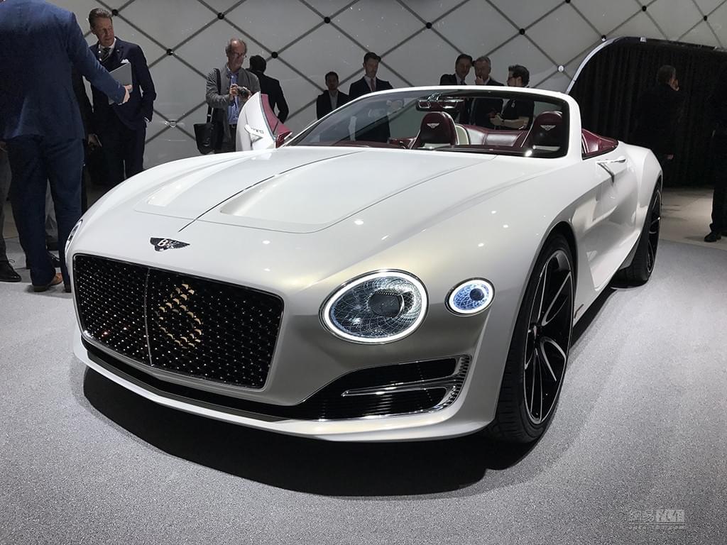 2017日内瓦车展:宾利 EXP 12 Speed 6e