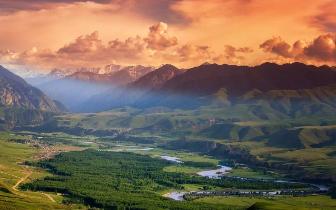 新疆最美旅行时间表 全都美哭了