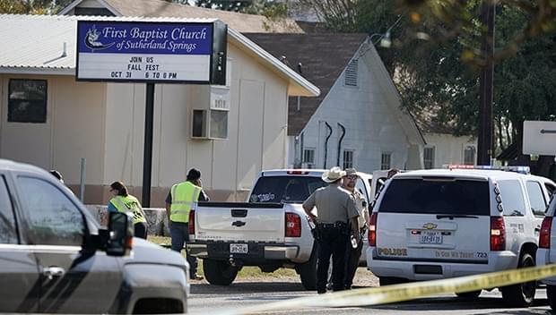 美国德克萨斯州发生枪击案 布兰妮与Gaga等星哀悼