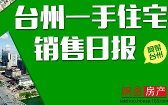 2018年3月21日台州市一手住宅售出320套