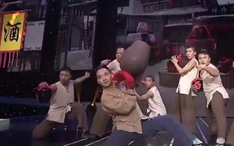 福建西山学校受邀登上央视舞台 《开门大吉》醉拳节目