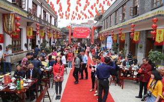 春风十里 不如春宴等你 中国·永泰·嵩口春宴4日开席