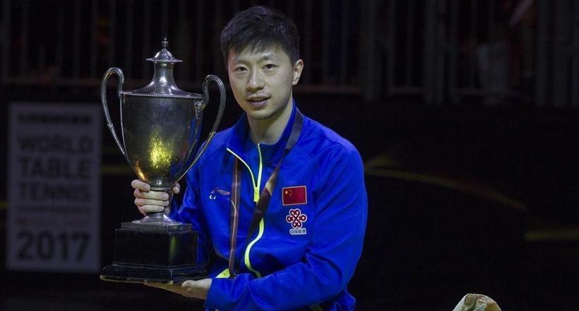 世乒赛马龙4-3樊振东卫冕 开启双满贯之路