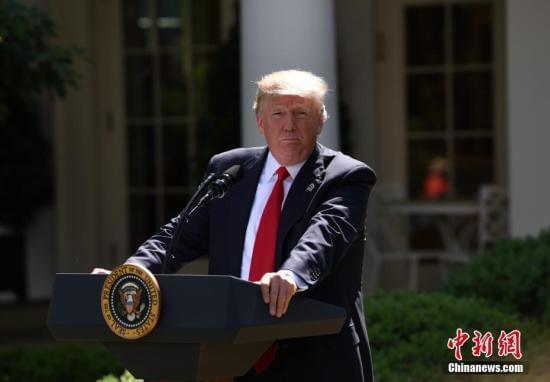 特朗普回应朝鲜试射导弹:所有选项都已摆上桌面