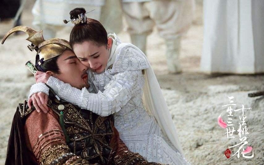赵又廷饰演的墨渊在大战中牺牲。