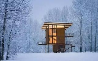 57年盖了座梦幻木屋