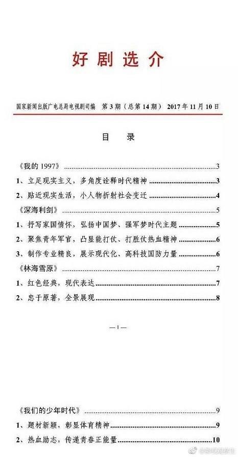 王源获广电总局表扬 新剧《我们的少年时代》表现受肯定