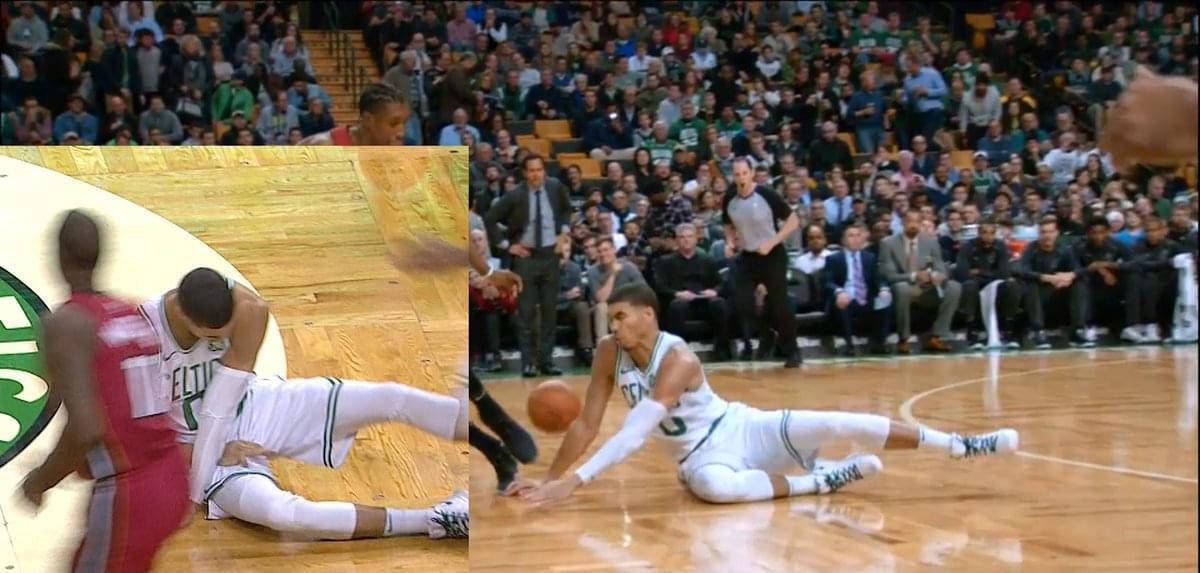 【影片】Tatum手指脫臼嚴重變形 已退出比賽返回更衣室-Haters-黑特籃球NBA新聞影音圖片分享社區