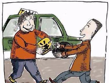 外地游客把行李落出租车上 两家公司接力帮其找回