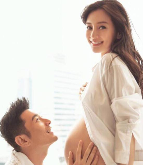 摄影师纪念拍摄baby孕照 侧面辟谣