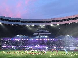一票难求 浙超联赛第二季万人球场揭幕!