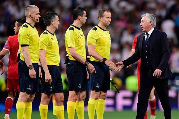 安帅:皇马不配晋级欧冠决赛 全世界都看到了误判