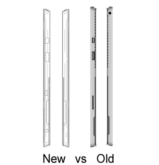 Surface Pro 5外形曝光:USB-C雷电3接口加入