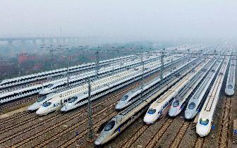 4月10日起将实行新的铁路列车运行图