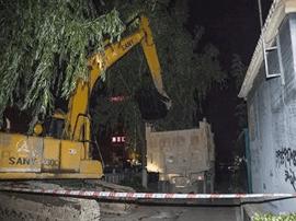 运城市水务局连夜进行姚暹渠清淤工作